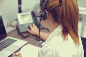 service client téléphonique