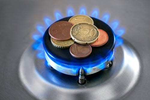 le prix de l'ouverture du compteur de gaz