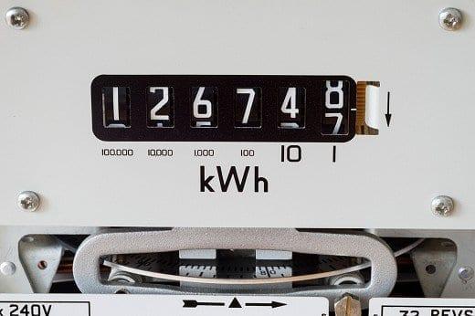 Evolution prix kWh