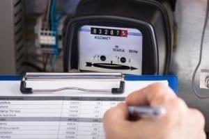 Relevé compteur éléctrique EDF Enedis