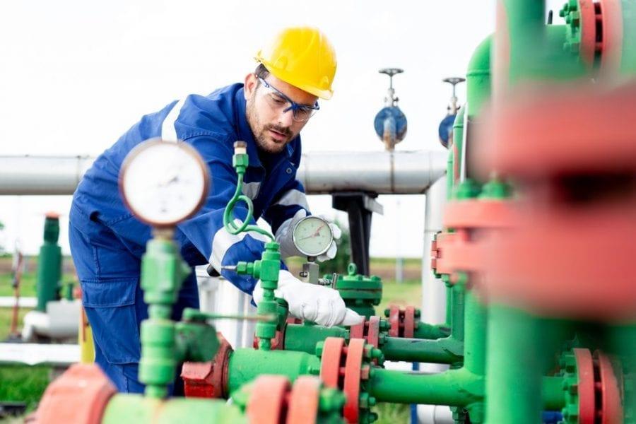Mise en service gaz ENI