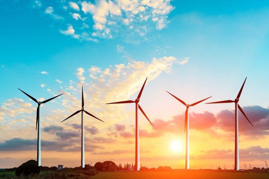 Fournisseur d'électricité verte éolienne