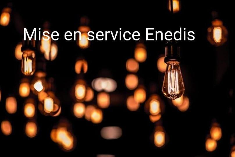 Enedis Mise en service