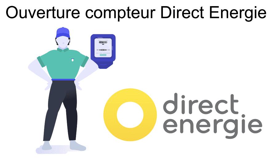 ouverture compteur direct énergie