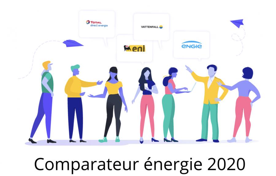 Comparateur énergie 2020