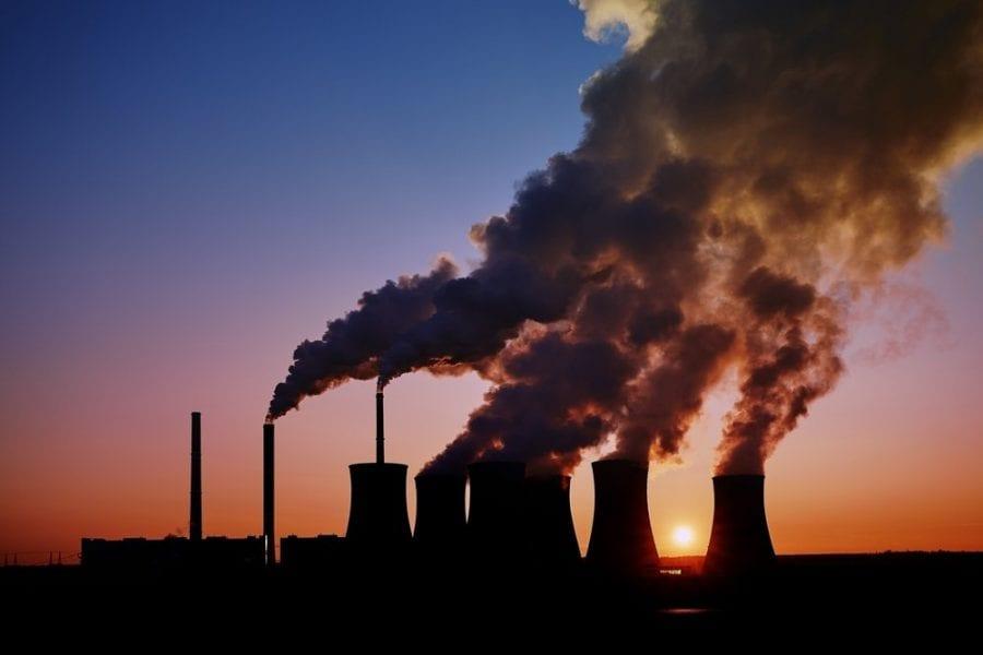 recul production charbon