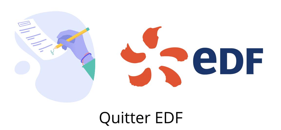quitter EDF