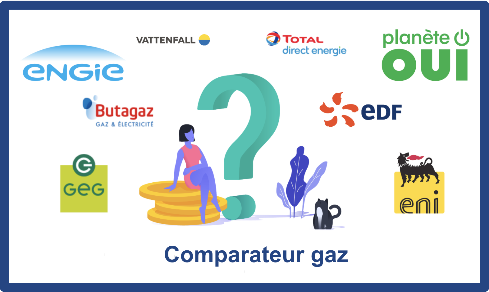 comparateur gaz