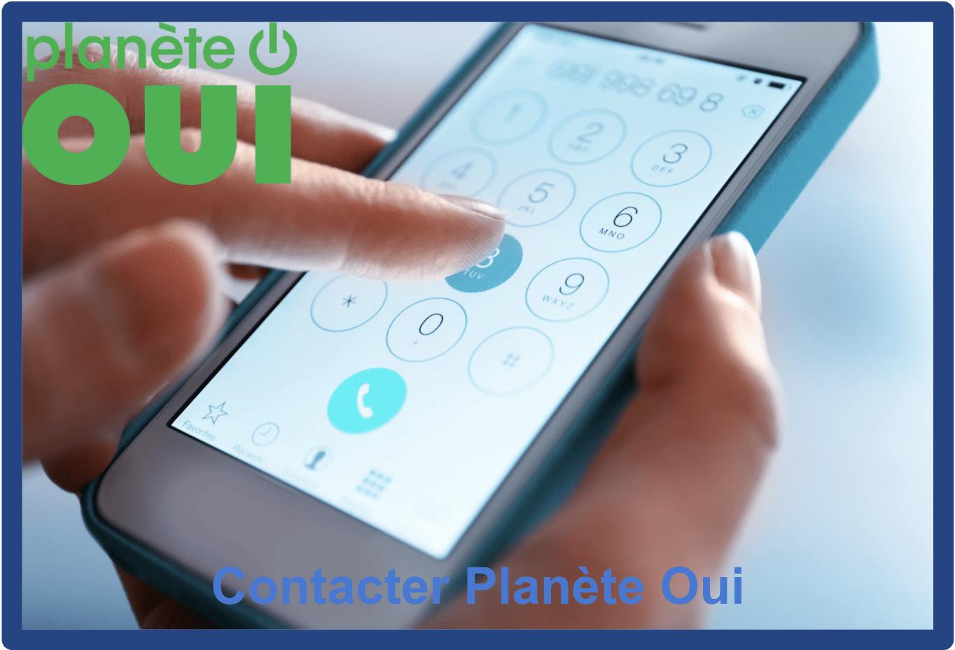 contacter planete oui