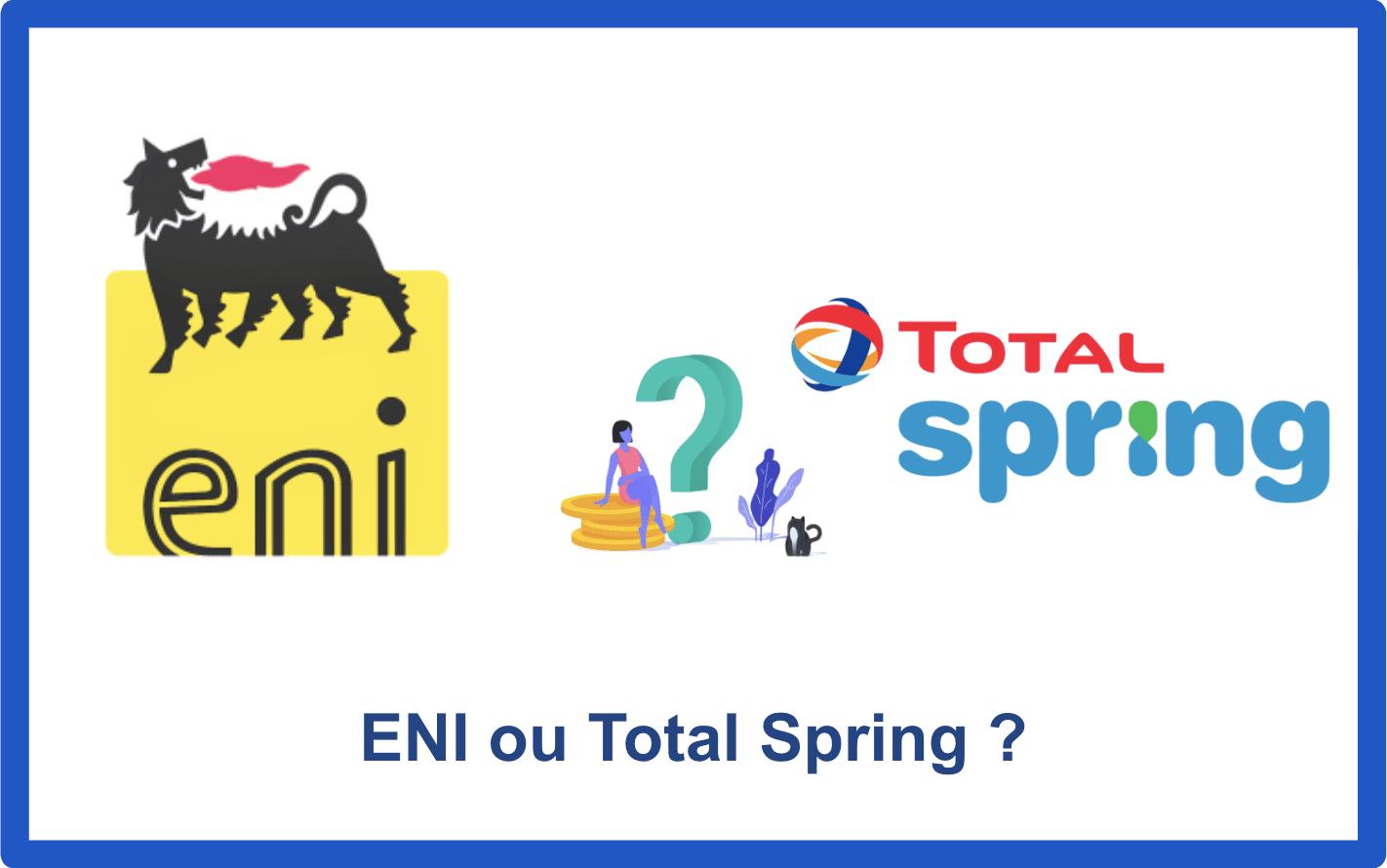 eni ou total spring
